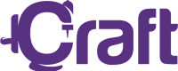 Craft Logo Purple